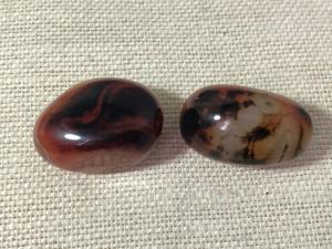 Agate - Banded - Madagascan - 3 to 4cm Tumbled Stone (Selected)