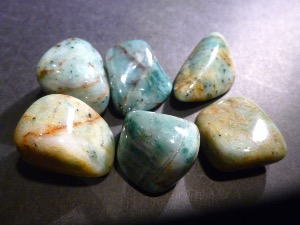 Chalcedony - Copper - Tumbled Stone