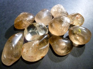 Citrine - Natural - 3cm Tumbled Stone