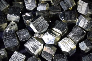 Pyrite Cubes, from Ambas Agues, La Rioja, Spain (3)