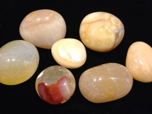 Agate - Yellow - Tumbled Stone