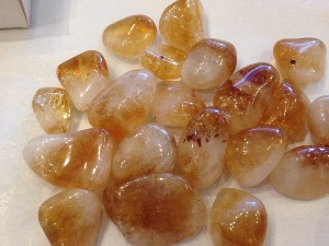 Citrine - Honey - Tumbled Stone