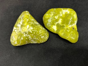 Lizardite - Kaolinite and Serpentine - 3 to 4 cm Tumbled Stone