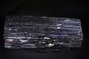 Black Tourmaline with Mica, from Brazil (No.80)