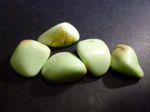 Chrysoprase - Lemon - Tumble Stone