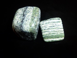 Chrysotile - Serpentine  - Tumbled Stone