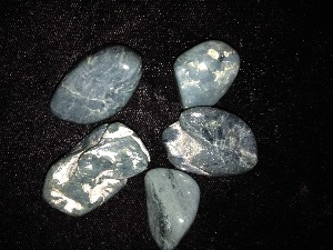 Dianite - Blue Jade- Tumbled Stone