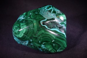 Malachite & Chrysocolla from Democratic Republic of Congo (No.496)