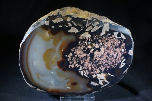 Natural Agate Slice (No.65)