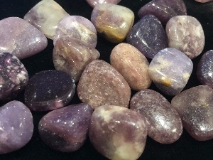 Lepidolite - 1.5 to 2cm Tumbled Stone