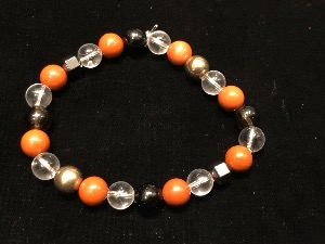 Protection - Bead Bracelet, Elasticated, 20cm (ref111923)