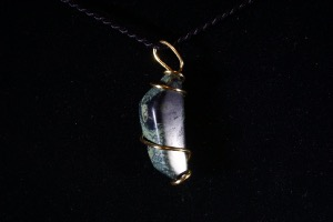 Kambaba Jasper Hand Wired Pendant (No.405)