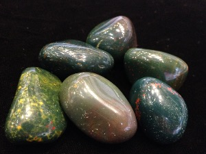Bloodstone - Tumble Stone - 2 to 3cm