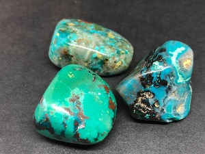 Chrysocolla - 2 to 3cm Tumbled Stone