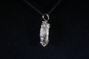 Smokey Quartz Hand Wired Pendant (No.401)