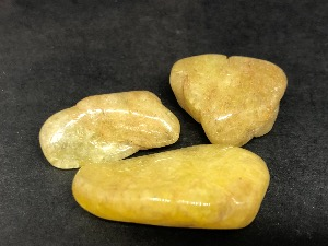 Danburite - Yellow, Agni Gold - Tumbled Stone
