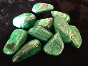 Malachite - 1 to 1.5cm Tumbled Stone