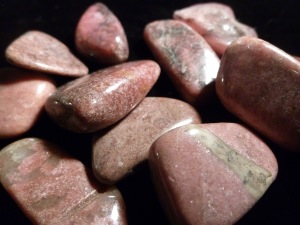 Rhodonite - (Solid Colour) Tumble Stone