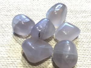 Fluorite - Lilac - Tumbled Stone