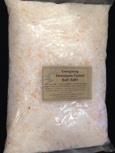 Energising Himalayan Crystal Bath Salt ( coarse grain)
