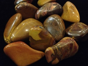 Jasper - Autumn Leaf - Tumbled Stone
