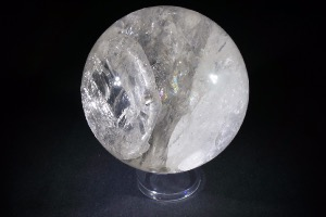 Quartz Crystal Sphere, from Brazil (No.24)