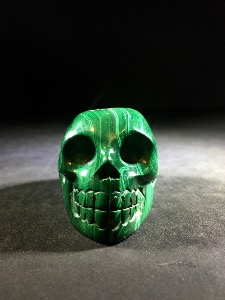 Malachite Skull (No.43)