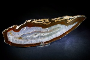 Natural Agate Slice (No.458)