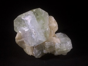 Apophyllite with Stilbite, from Poona, India (No.77)