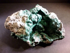 Malachite 'Natural', from Zaire (No.101)