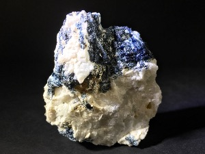 Blue Tourmaline, in Feldspar (No.158)