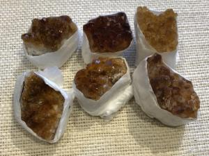 Citrine - Warmed Cluster - up to 30g (Ref Sel)