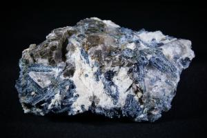 Blue Kyanite & Black Mica, from Brazil (No.124)