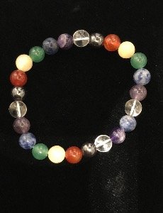 Chakra Bracelet -  Gemstone Beads (Selected)