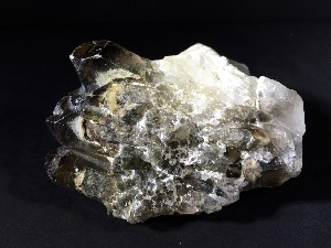 Smokey Quartz Cluster, from Brazil (No.107)