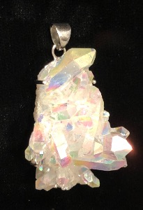Angel Aura - Sterling Silver Pendant (ref25)