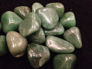 Aventurine - Green - Tumbled Stones (Dark)