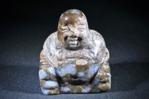 Que Sera Stone Buddha (Also know as Llanite, a form of Rhyolite) (No.130)