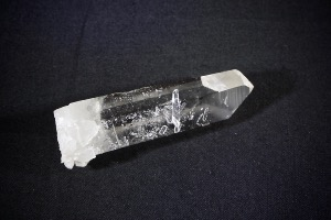 Super Clear Arkansas Quartz Point, from Mount Ida, Montgomery County, Arkansas, USA (No.155)