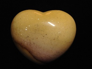 Heart - Mookaite Jasper ( item no. 155 )