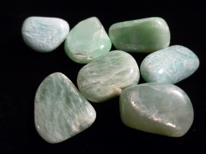 Moonstone - Green - Tumbled Stone