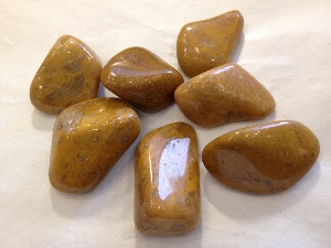 Jasper - Yellow - Tumbled Stone