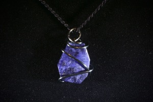 Sodalite Hand Wired Pendant (No.395)