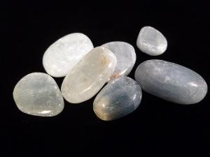 Barite Blue Tumbled Stone