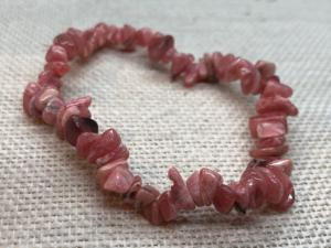 Rhodochrosite Chip Bracelet (selected)