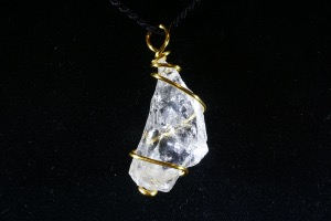Quartz Hand Wired Pendant (No.404)
