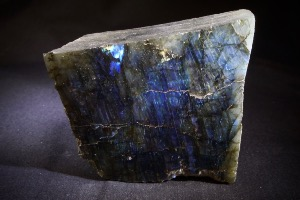 Labradorite (Half Polished/Half Rough) from Madagascar (No.84)