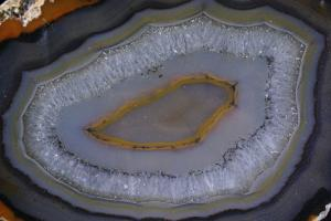 Natural Agate Slice, from Brazil (No.207)