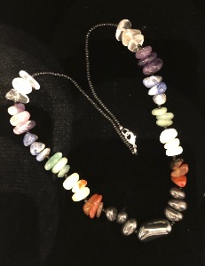 Chakra Necklace -Tumbled Stones