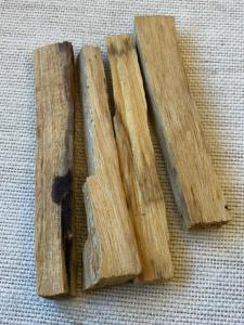 Palo Santo Wood (Holy Wood) - Natural Incense 4 x 6g to 7.5g sticks